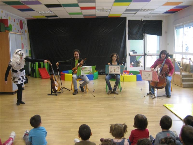 Estimular en la música a los más pequeños