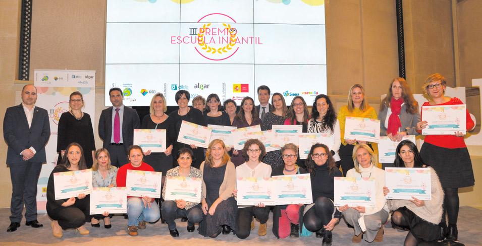Clece escuelas infantiles premiada por Grupo Siena