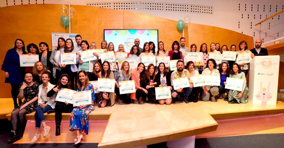 Las escuelas infantiles de Koala reciben tres premios y tres menciones especiales